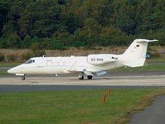SX-BNR Learjet 60 (c/n 231) EGLF (andrewt242) Tags: sxbnr learjet 60 cn 231 eglf