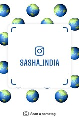 example of nametag for Instagram (Sasha India) Tags: instagram nametag instatag tag name sashaindia дизайн qrcode design 設計 디자인 التصميم σχέδιο डिज़ाइन வடிவமைப்பு desenhar projekt עיצוב desain globe