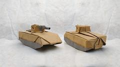 How to Make Origami Tank/ Cara Membuat Origami Tank (Panzer/Танк/戦車/دبابة/Char/Tanque) (Hadi Tahir) HD (haditahir) Tags: origami tank panzer infantry fighting vehicle kertas paper papercraft indonesia bandung juara