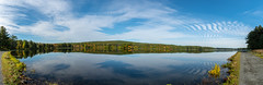 ashleyreservoir2018-147 (gtxjimmy) Tags: ashleyreservoir nikond7500 nikon d7500 newengland holyoke massachusetts autumn fall watersupply reflections reflection panorama