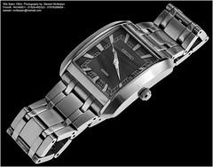 1980's Seiko Mens 100m Quartz Watch (Stewart Mcfadyen) Tags: seikowatch 100m stainlesssteel squaredial quartz classic productphotography watchphotography watchphoto wristwatch mens stewartmcfadyen productphotographer watch studiophotography unique affordable photography seiko