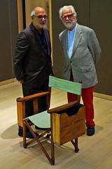 The Establishing Shot : STANLEY KUBRICK: THE EXHIBITION & THE DESIGN MUSEUM 2019 EXHIBITION PROGRAMME ANNOUNCEMENT - ALAN YENTOB &  JAN HARLAN WITH STANLEY KUBRICK'S DIRECTORS CHAIR - DESIGN MUSEUM, LONDON (Craig Grobler) Tags: ckc1ne craiggrobler craigcalder london film uk theestablishingshot wwwtheestablishingshotcom theestshot attheestshot thestanleykubrickexhibition stanleykubrick exhibition filmexhibition designmuseum sony sonyalpha77 alpha77 panel props filmprops filmmaking janharlan alanyentob deyansudjic stuartbrown bfi aliceblack justinmcgurick mars