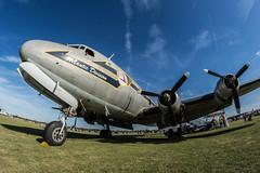 Douglas C-54B Skymaster (Przemyslaw Burdzinski) Tags: douglas c54b skymaster n44914 north weald egsx united kingdom festjet 2018 29092018