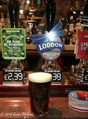 October 29th, 2018 Today's Tipple - Loddon's Hocus Pocus old ale (karenblakeman) Tags: baroncadogan pub caversham uk beer ale loddonbrewery hocuspocus oldale binghams drrudieldorado paleale 2018 2018pad october reading berkshire