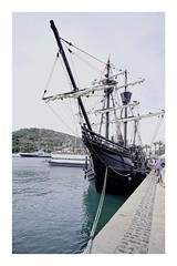 Nao Victoria (jrusca) Tags: nao victoria naovictoria vueltaalmundo1519 cartagena spain puerto barcos barcohistórico navio