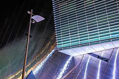 Nightshot (gerla photo-works) Tags: libeskind linien lampe lamp dublin bordgaisenergytheatre