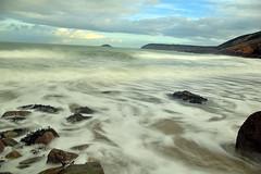 4125_long_exposure_during_the_storm (Realmantis) Tags: ocean longexposure beach rock storm