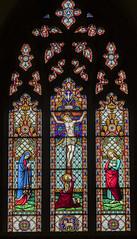 Waltham on the Wolds, St Mary Magdalene church, East  window (Jules & Jenny) Tags: stmaryschurch walthamonthewolds stainedglasswindow