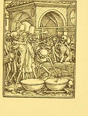 This image is taken from Page 93 of Der Todtentanz von H. Holbein, nach dem Exemplare der ersten Ausgabe im Kgl. Kupferstich-Cabinet zu Berlin in Lichtdruck nachgebildet (Medical Heritage Library, Inc.) Tags: dance death rcplondon ukmhl medicalheritagelibrary europeanlibraries date1879 idb22651263