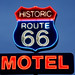 Historic Route 66 Motel sign, Kingman, Arizona. Original image from Carol M. Highsmith's America, Library of Congress collection. Digitally enhanced by rawpixel