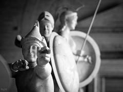 Sniper (-BigM-) Tags: germany deutschland bayern münchen glyptothek bigm stein stone kunst art antik königsplatz