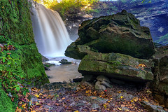 Minneopa Creek Lower Falls - Minneopa State Park, MN (j-rye) Tags: sonyalpha sonya6000 sony a6000 ilce6000 mirrorless river creek stream onlyinmn landscape moss glg lkg