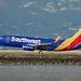 Southwest Airlines Boeing 737 N-743SW landing SFO DSC_0632 (1)