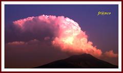 Etna spettacolare (fr@nco ... 'ntraficatu friscu! (=indaffarato)) Tags: italia italy sicilia sicily catania etna mongibello mare montagna cratere crater fumo