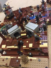 German trenches + Pillboxes (thelameguitarist) Tags: ww1 lego moc verdun french german