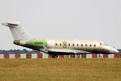 N252GA (GH@BHD) Tags: n252ga gulfstreamaerospace gulfstream g280 gulfstreamg280 stn egss londonstanstedairport stanstedairport stansted bizjet corporate executive aviation aircraft