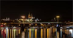 Nächtlicher Farbenzauber, Prag / Nocturnal color magic, prag (ludwigrudolf232) Tags: farben prag nacht spiegelung
