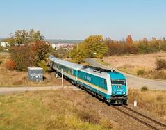 223.065 (miroslavmencl) Tags: vlak železnice dies dieselovývlak herkules alex ex express nýřany
