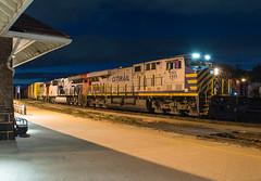How The Night Moves (Joseph Bishop) Tags: crex 1511 ge es44ac brantford cndundassubdivision trains train track tracks railfan railroad railway rail rails leaser