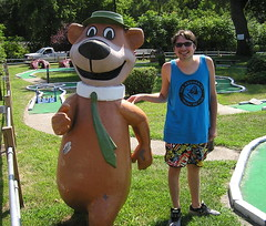 "Yogi Bear's Jellystone Park (Vinny Gragg) Tags: •template ""roadsideattraction"" ""roadsideattractions"" ""roadsidestatue"" ""roadsidegiants"" ""roadsidestatues"" ""roadsideoddities"" statues statue ""roadsideart"" giants ""fiberglassstatue"" ""fiberglassstatues"" fiberglass yogi yogibear hannabarbera jellystonepark ""yogibearsjellystonepark"" jellystone camping superheroes superhero comics comicbooks comicbook villian villians supervillian supervillians aquabat aquabats the theaquabats golf minigolf miniaturegolf hanna barbera"