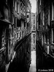 The Way Out (orgazmo) Tags: venice venezia italy italia laserenissima blackwhite monochrome canal canalway olympus omd em1mk2 panasonic leica leicadgvarioelmarit818mmf284asph micro43s m43s travelphotography urbanlandscape