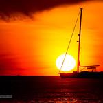 Sunset with yachts near Phuket island, Thailand         XOKA2038S thumbnail