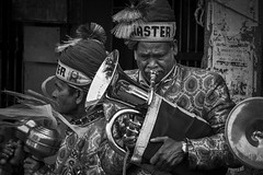 the band (charlesgyoung) Tags: olddelhi india delhi d500 rajasthan charlesyoung karineaignerphotographyexpedition nikon nikonphotography nikondx blackandwhite streetphotography band
