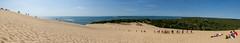 Dune du Pilat (gael.lamirand) Tags: vegetation france ciel nature sable dunedupilat bleu dune univers nouvelleaquitaine matières forêt couleurs gironde europe scène panorama latestedebuch fr