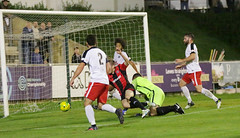Lewes 2 Kings Langley 1 FAC replay 26 09 2018-221.jpg (jamesboyes) Tags: lewes kingslangley football nonleague soccer fussball calcio voetbal amateur facup tackle pitch canon 70d dslr