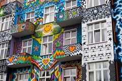 HappyGoLuckyHotel Berlin (Lens Daemmi) Tags: happygoluckyhotel berlin street art