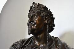 Bust of Christian IV (1650) (Bri_J) Tags: rosenborgcastle rosenborgslot kongenshave copenhagen denmark københavn danmark castle museum nikon d7500 brass bust christianiv king françoisdieussart