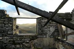 Dinorwic is my Cathedral (PentlandPirate of the North) Tags: dinorwic dinorwig snowdonia ruin derelict gwynedd northwales slate quarry window