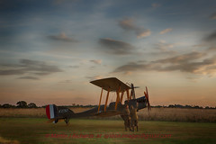Dawn WWI Aircraft Photoshoot At Stow Maries Airfield (syston images) Tags: hdr collection airfieldstowmaries sunrisesunrise propelleraircraft essex england location flightline published aerospace status weatherlight category royalaircraftfactorybe2