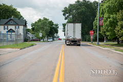 Finley, ND (NDDOT Photos) Tags: construction district rural smalltown citystreets finley nd usa