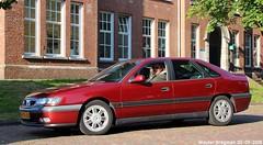 Renault Safrane V6 24V 2000 (XBXG) Tags: 10fdbz renault safrane v6 24v 2000 renaultsafrane la fête des limousines 2018 fort isabella vught nederland holland netherlands paysbas youngtimer old classic french car auto automobile voiture ancienne française vehicle outdoor