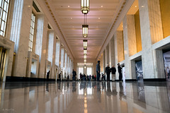 On the Ground Floor (Andy Marfia) Tags: chicago postoffice architecture interior artdeco historic restored lobby d7500 1680mm 1200sec f5 iso1100 ohc2018