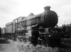 "7034 ""Ince Castle"". (curly42) Tags: 7034 incecastle steam railway 85b gloucesterhortonroad withdrawn scrap castleclassloco britishrailways"