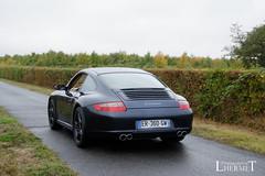 20181007 - Porsche 911 (997-1) Carrera 325cv - N(2213) - CARS AND COFFEE CENTRE - Chateau de Longue Plaine (laurent lhermet) Tags: carreras carrera chateaudelongueplaine domainedelongueplaine nikkor18105 nikond5500 porsche911carrera porsche porsche911 porsche9971 nikon