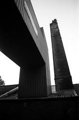 11 Elland chimneys (I ♥ Minox) Tags: film 2018 olympus om1 om1n olympusom1n olympusom1 om1033 tmax tmax400 kodaktmax400 kodak mining miner retiredminer westyorkshire pit colliery kellingley elland
