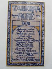 Cordoba (LindseyS2008) Tags: cordoba andalucia spain tiles advert