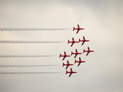 Red Arrows, Falmouth, Cornwall (photphobia) Tags: redarrows royalairforceaerobatictea falmouth cornwall town uk oldtown oldwivestale outdoor outside