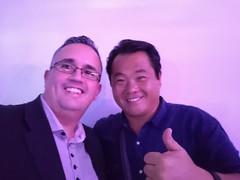 Eu e o Robinson Shiba do China in Box. Evento 18/10/2018.
