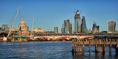 River panorama (another_scotsman) Tags: london city architecture cityscape river thames panorama