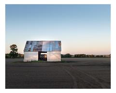 saint-liboire (Mériol Lehmann) Tags: fields barn hangar landscape evening rural field
