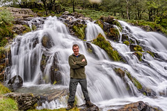 On the welsh hills again (gopper) Tags: wales welsh cymru postcard north gods country ngc nikon d600 24mm scenery scenic awesome beatcancer survivor mountain mountains dramatic watkin path footpath landscape hill hills hilly snowdon snowdonia gwynedd 2018 dull day cloudy clouds amazing cold freezing nantgwynant flickr fflickr photography slomo exposure long selfie waterfall water river grass forest rock autumn october smiling smile waterfalls mywales