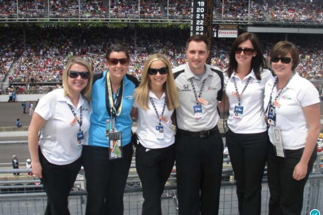 Andretti Green Racing - Indy 500 2008 - Client Services