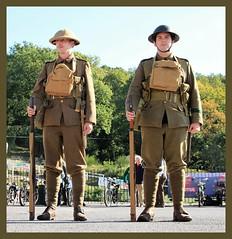 Infantry 1914-1918. (BIKEPILOT, Thx for + 4,000,000 views) Tags: infantry army britisharmy wwi thegreatwar 19141918 uniform kit tommy soldier brooklandsgreatwar100 thegreatwarday brooklandsmuseum weybridge surrey uk england britain war