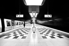 Chess piece (kuestenkind) Tags: chess schach hamburg ubahn hafencity 4