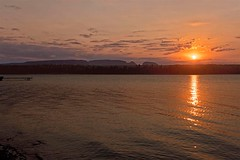 (PaulPagéPhotos) Tags: lakemarielouise lakesuperior northernontario sleepinggiant sunset d850 nikon hiking camping