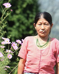 Proud flower grower (Nagarjun) Tags: pelling sikkim northeastindia greenery nature village walk ruralindia nepali